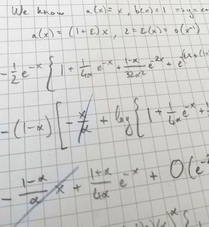 maths on paper